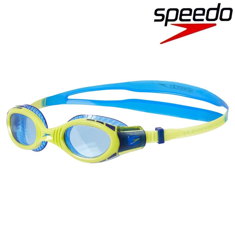 Simglasögon barn - Lime/Blå