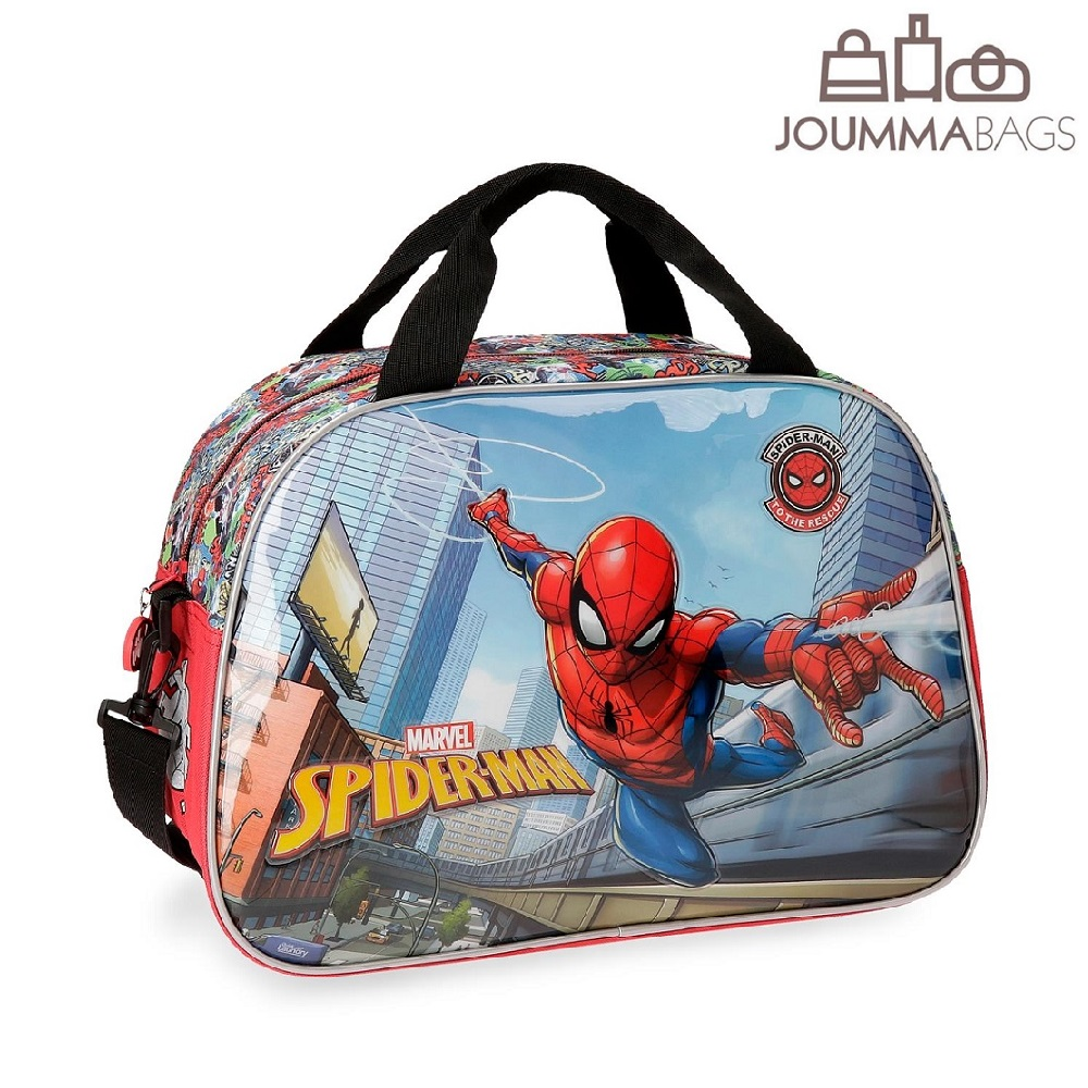 Sportväska och resebag barn Joumma Bags Spiderman To Rescue