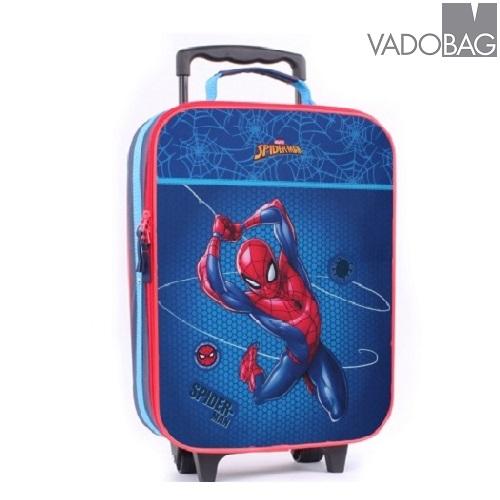 Barnresväska Spiderman Protector Trolley Blå