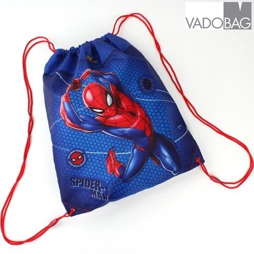 Spiderman gympapåse blå