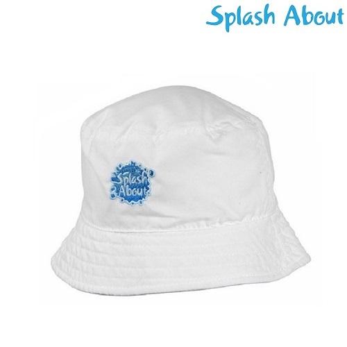 Solhatt barn SplashAbout Bucket vit