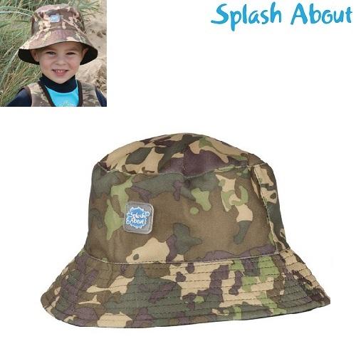 Solhatt barn SplashAbout Bucket Camo