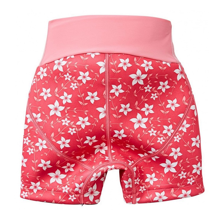Blöjbadbyxor SplashAbout Splash Jammers Pink Blossom rosa