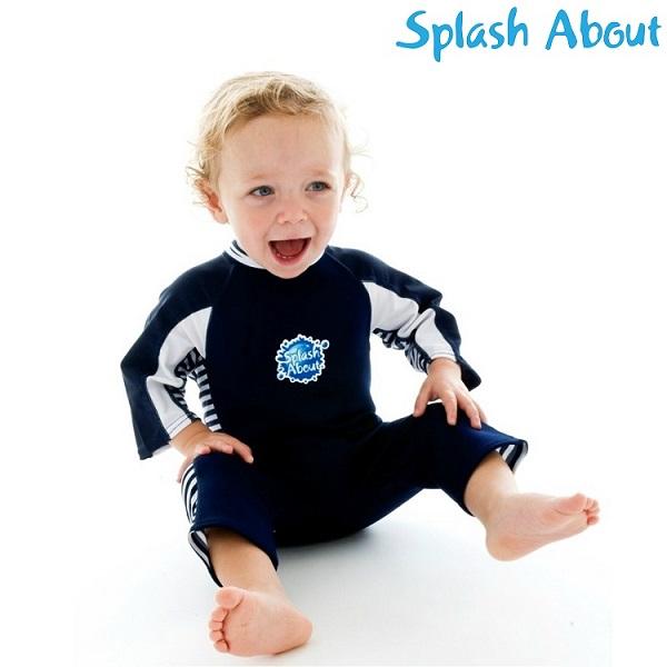 UV-dräkt SplashAbout UV-Combi Blå