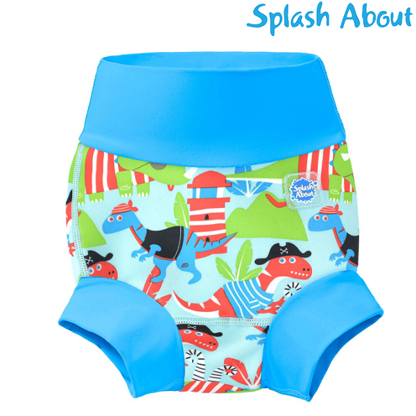 Badblöja SplashAbout Happy Nappy Dino Pirates