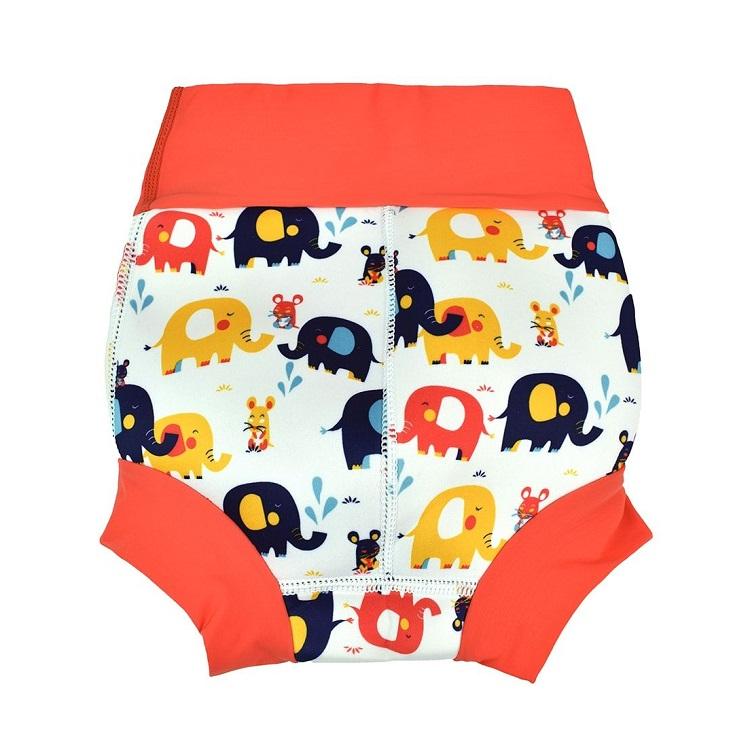 Badblöja SplashAbout Happy Nappy Elephants