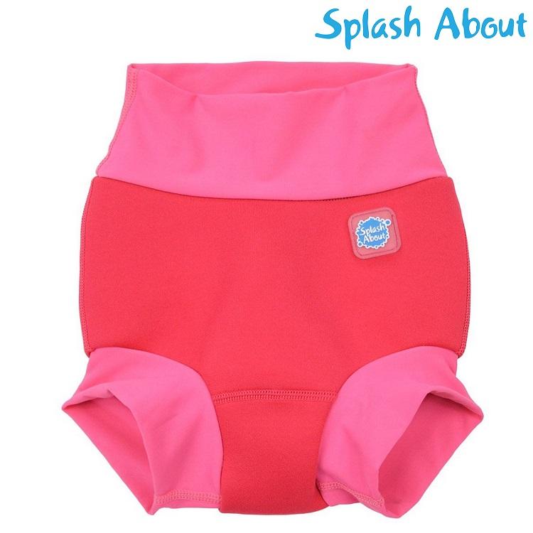 Badblöja SplashAbout Happy Nappy Pink Geranium rosa