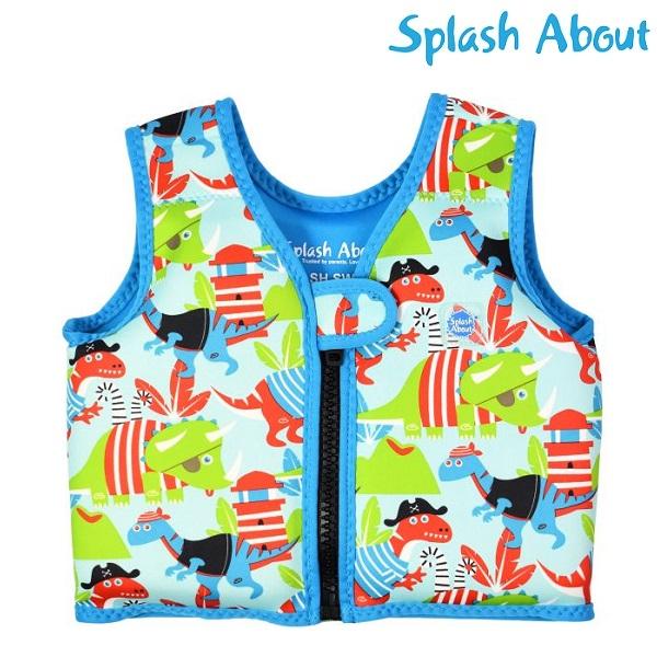 Simväst för barn SplashAbout Dino Pirates