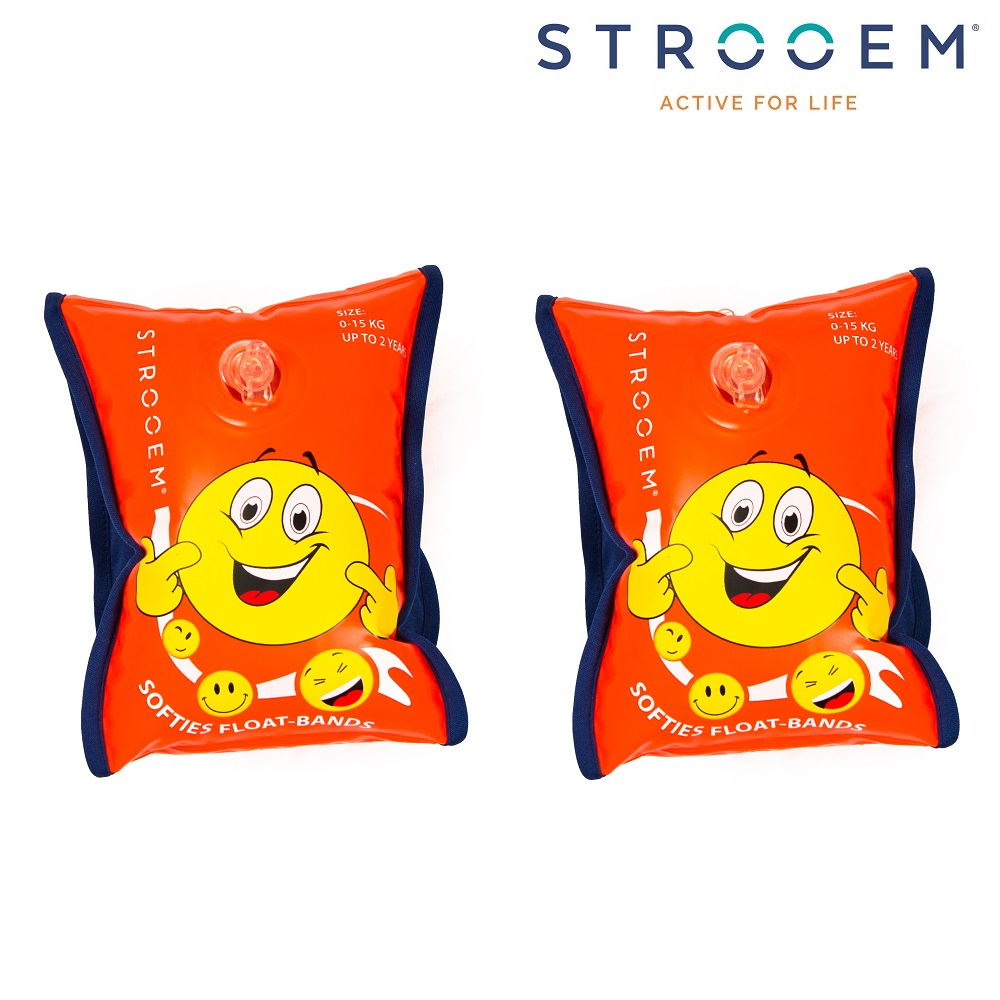 Armpuffar Strooem Softies orange