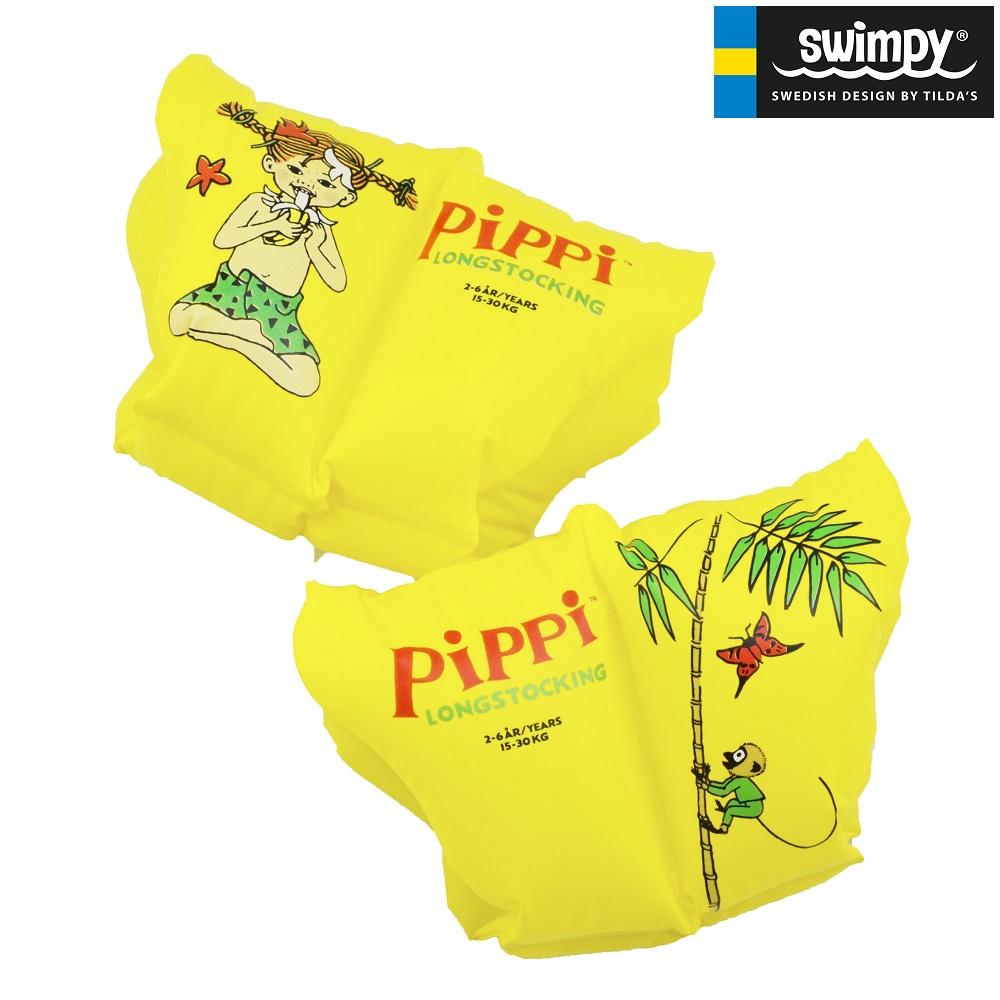 Armringar Swimpy Pippi Långstrump gula