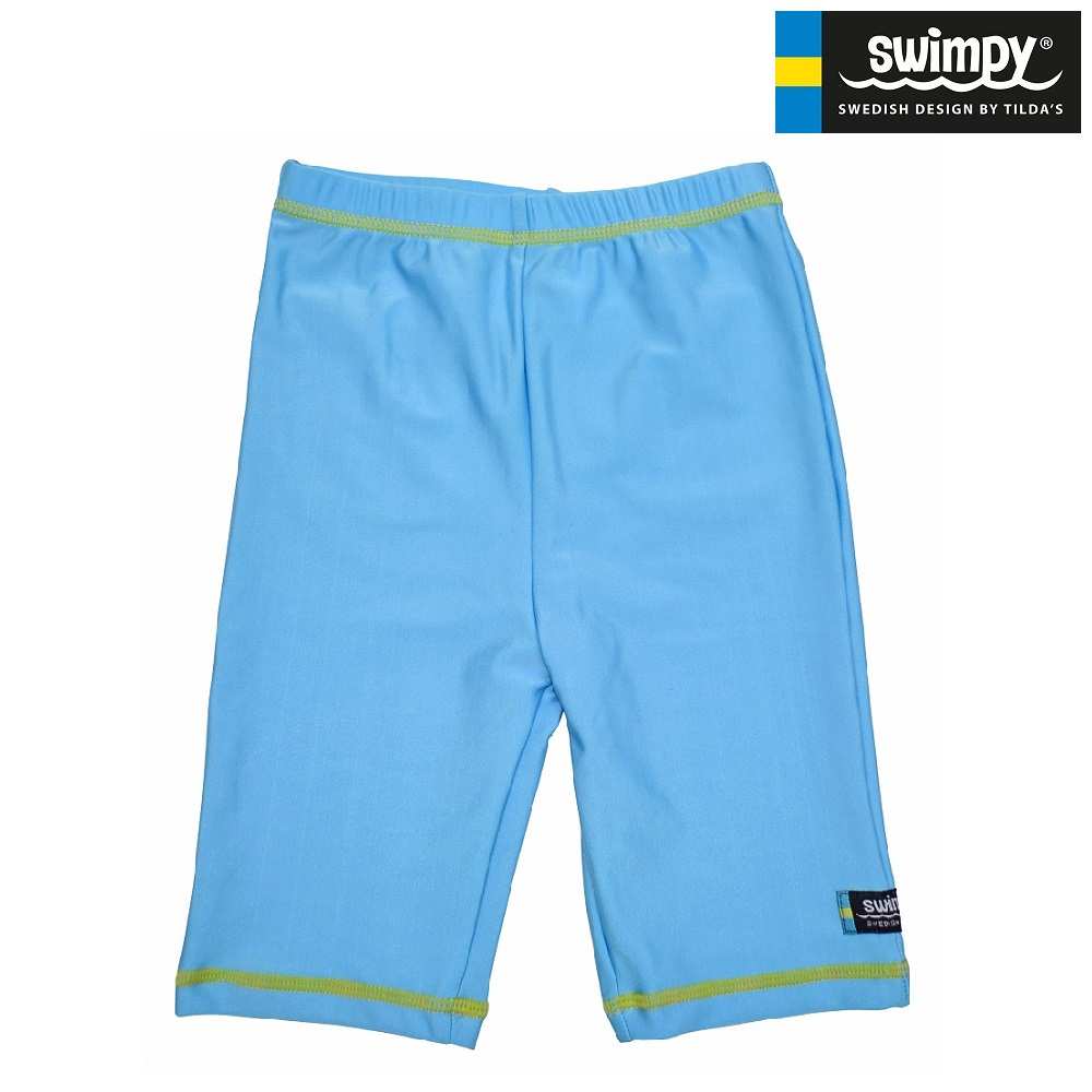 UV byxor Swimpy Fiskar blå