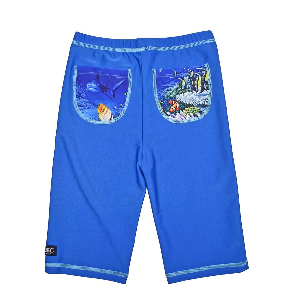 UV byxor Swimpy Haj blå