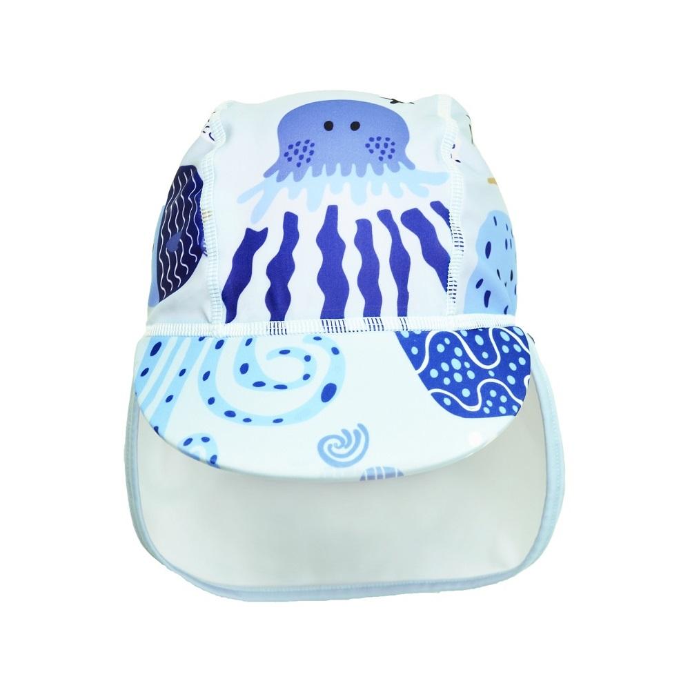 UV-hatt Swimpy Octopus blå