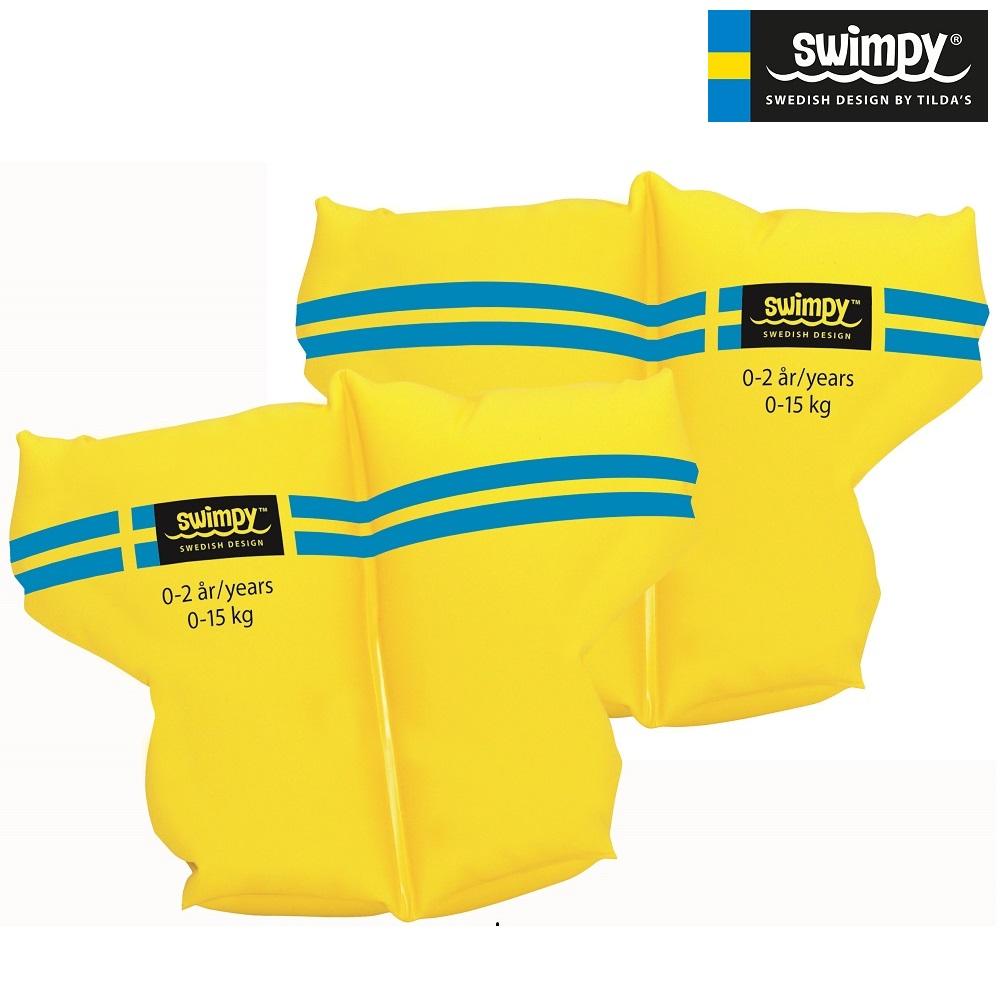 Swimpy Armringar gula 0-2 år