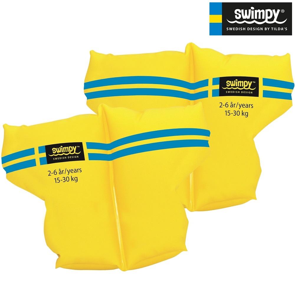 Swimpy Armringar gula 2-6 år