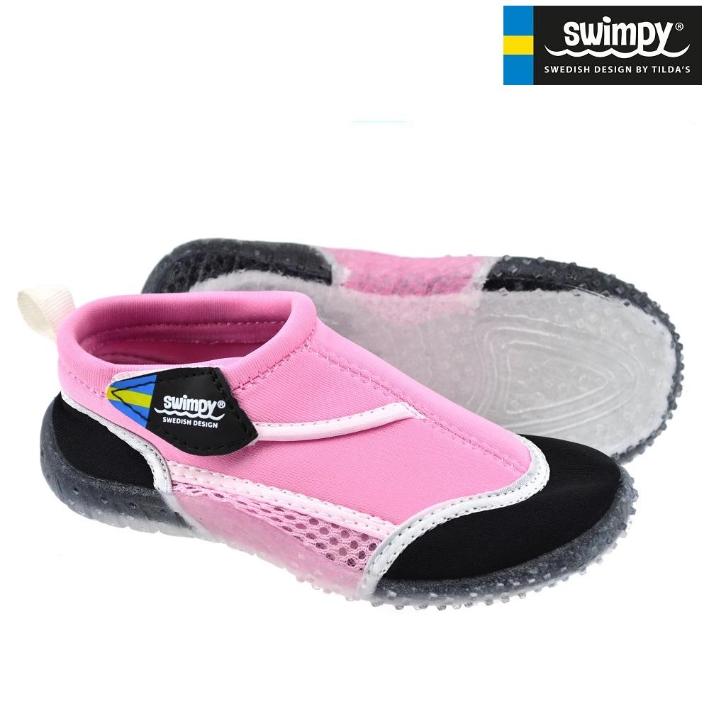 Badskor barn Swimpy rosa