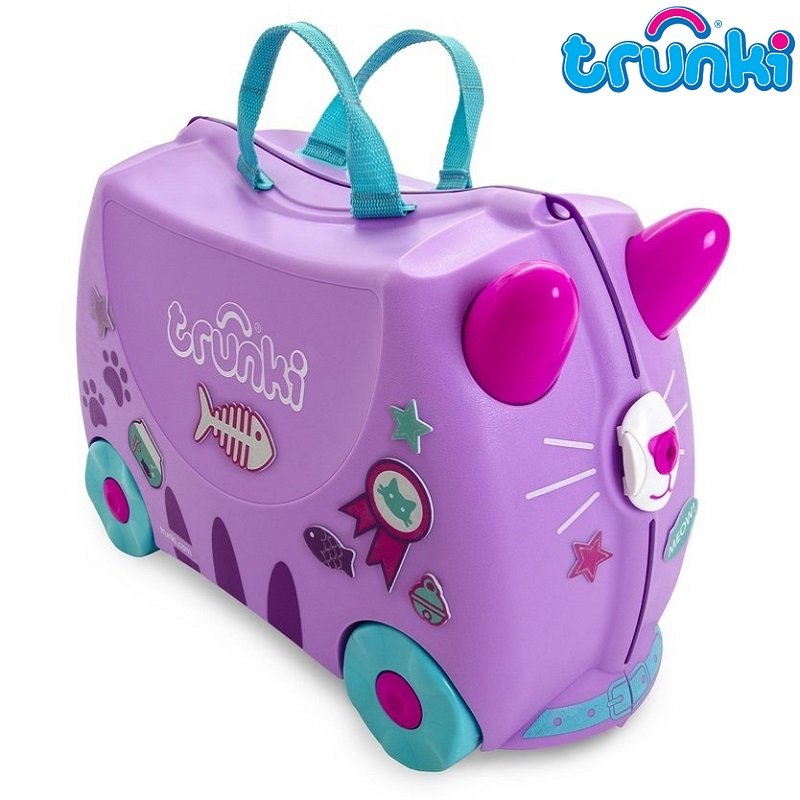 Resväska barn Trunki Cassie Cat