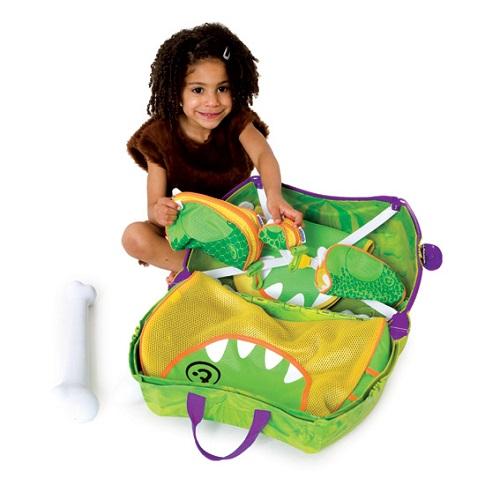 Resväska barn Trunki Dino Rex