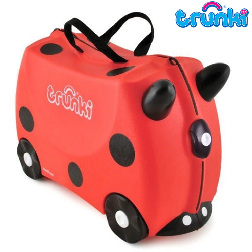 Resväska barn Trunki Harley Ladybug