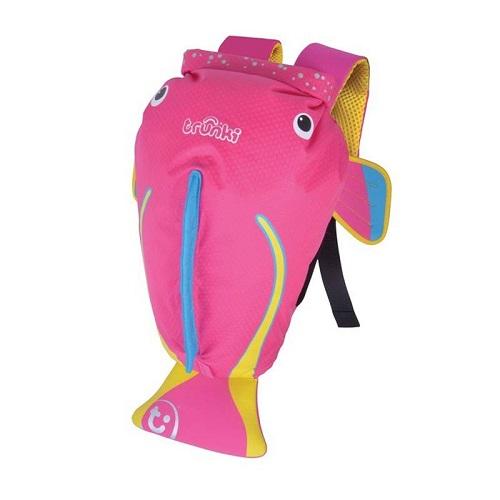 Ryggsäck barn Trunki PaddlePak Tropical Fish vattentät