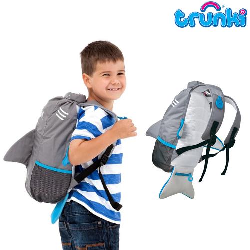 Ryggsäck barn Trunki PaddlePak vattentät Shark