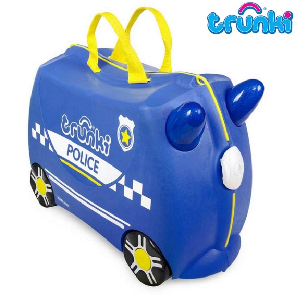 Resväska barn Trunki Percy Police