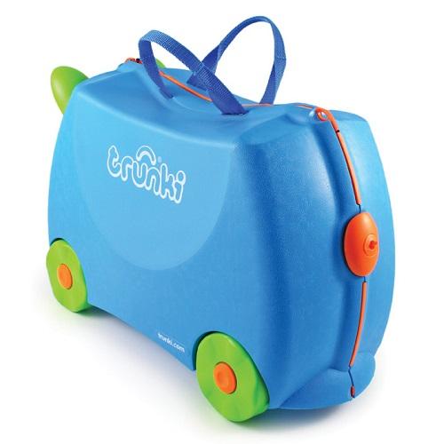 Resväska barn Trunki Terrance Blå