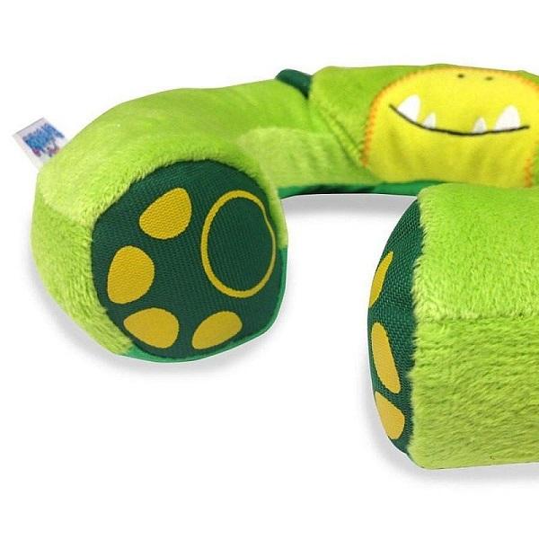 Nackkudde barn Trunki Yondi Dudley Dino grön