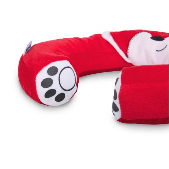 Nackkudde barn Trunki Yondi Fox Felix röd