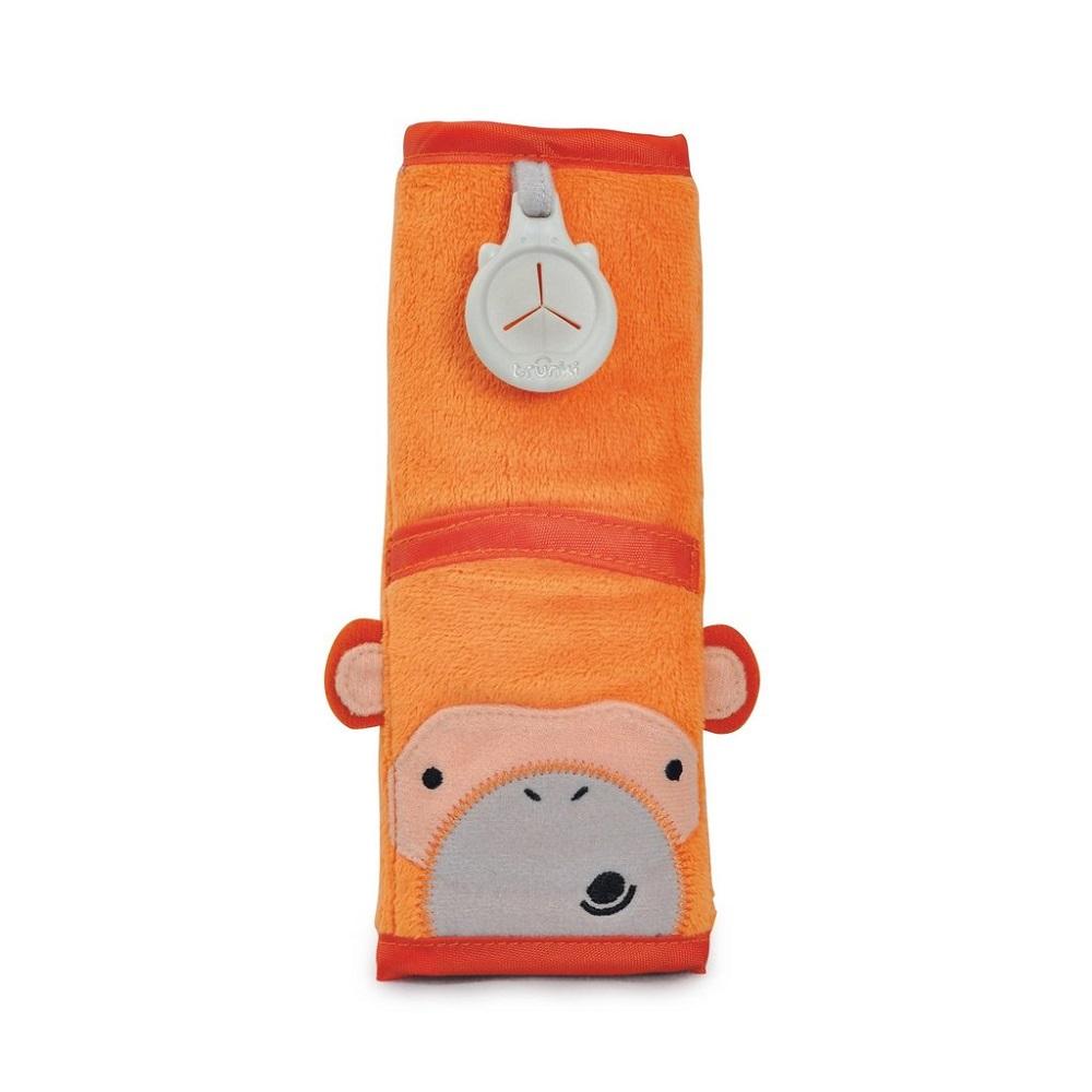 Bältesskydd Trunki Seat Belt Pad Monkey Mylo orange