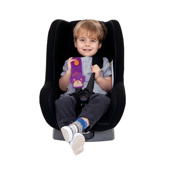 Bältesskydd Trunki Seat Belt Pad Owl Ollie Lila