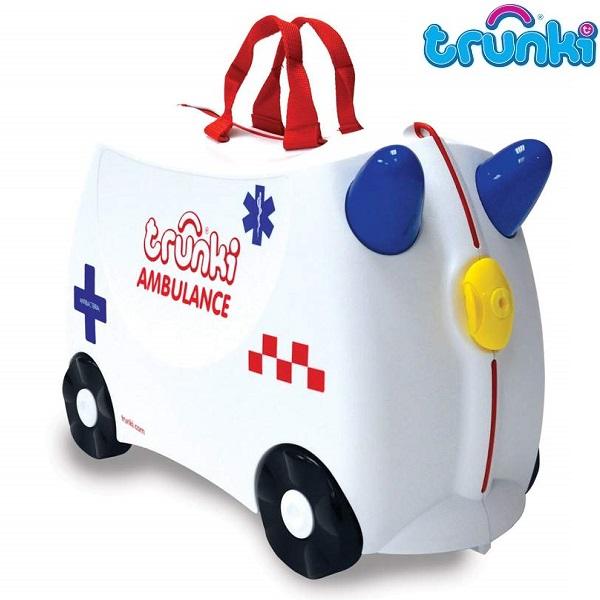 Resväska för barn Trunki Abbie Ambulance