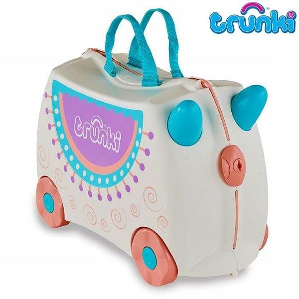 Resväska för barn Trunki Lola Lama