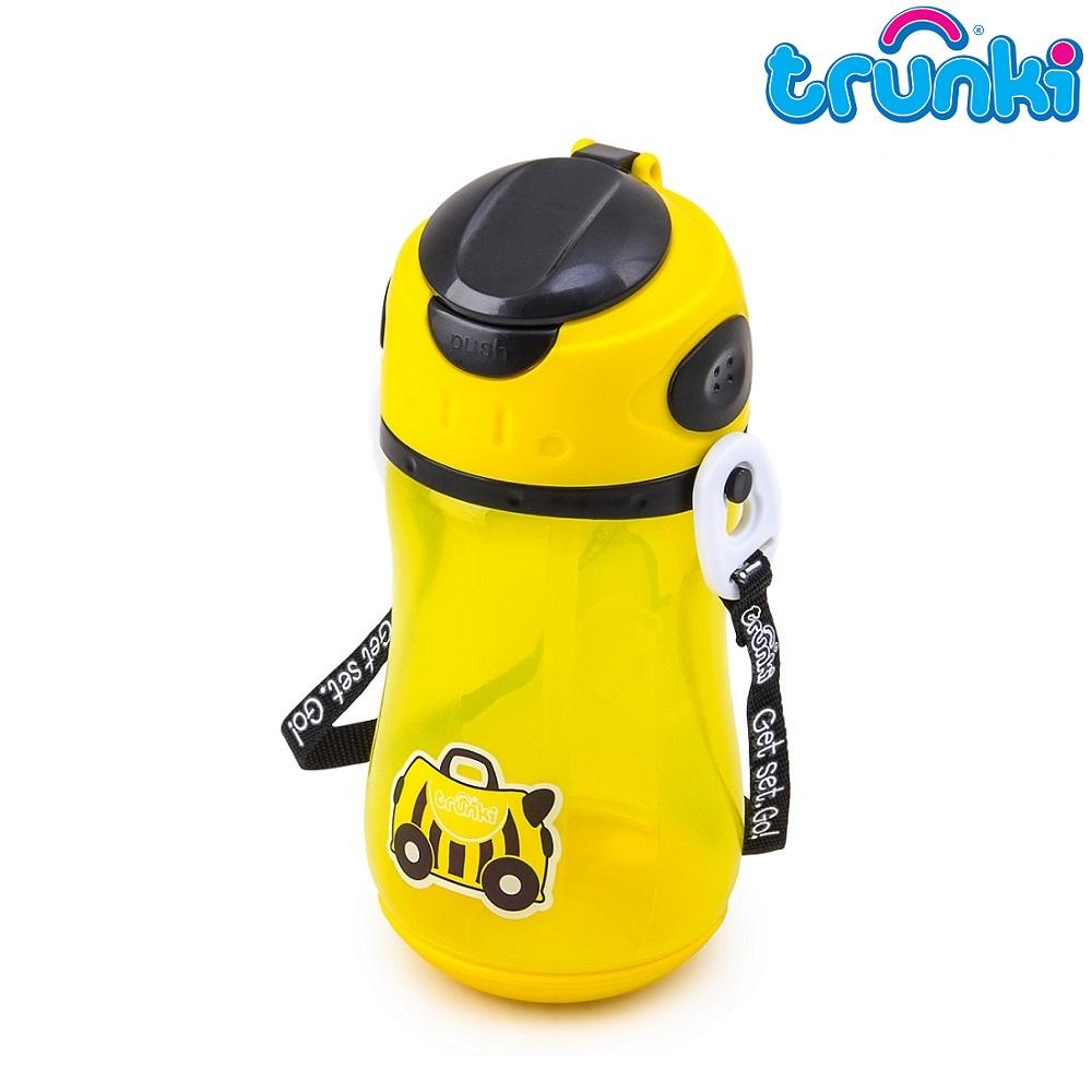 Vattenflaska barn Trunki Bee Bernard Gul 500 ml