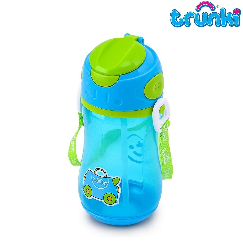 Vattenflaska barn Trunki Terrance blå 500 ml