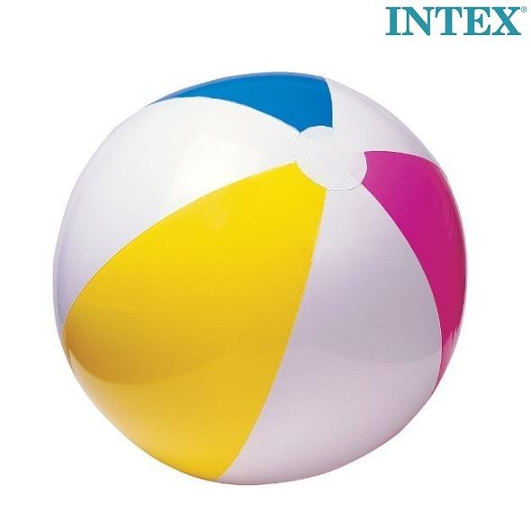 Uppblåsbar badboll Intex Classic stor