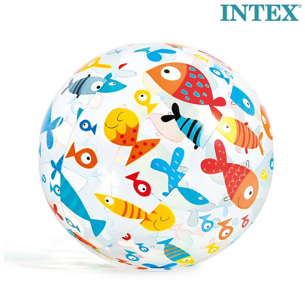 Uppblåsbar badboll Intex Fiskar