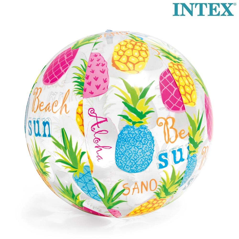 Uppblåsbar badboll Intex Pineapple
