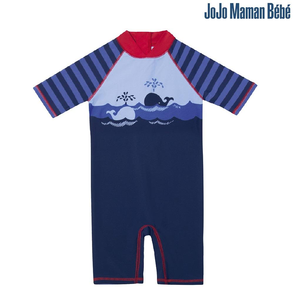 UV-dräkt Jojo Maman Bebe Blue Stripe