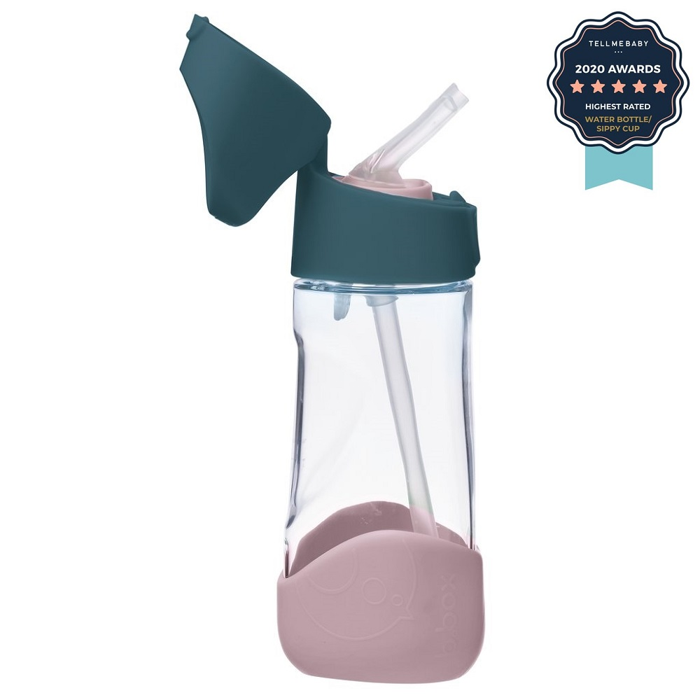 Vattenflaska för barn Bbox Tritan Indigo Rose