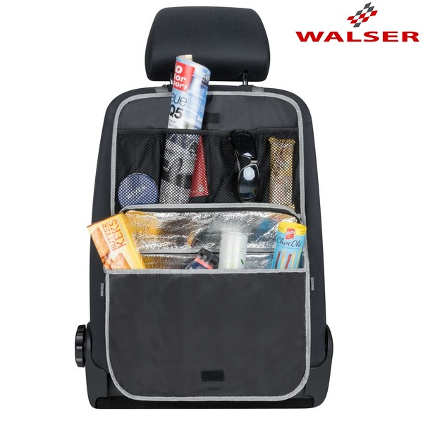 Sparkskydd med kylväska Walser Cooler Bag Svart