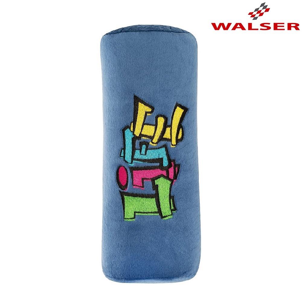 Bälteskudde Walser Graffiti blå