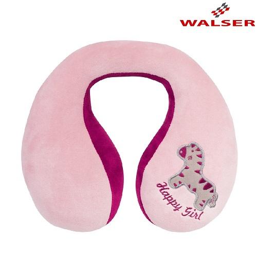 Nackkudde barn Walser Zebra rosa