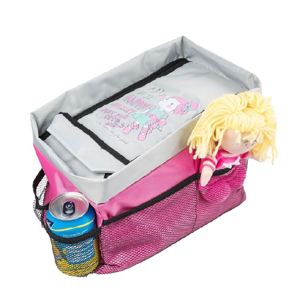 Bilförvaring väska Walser Happy Ballet rosa